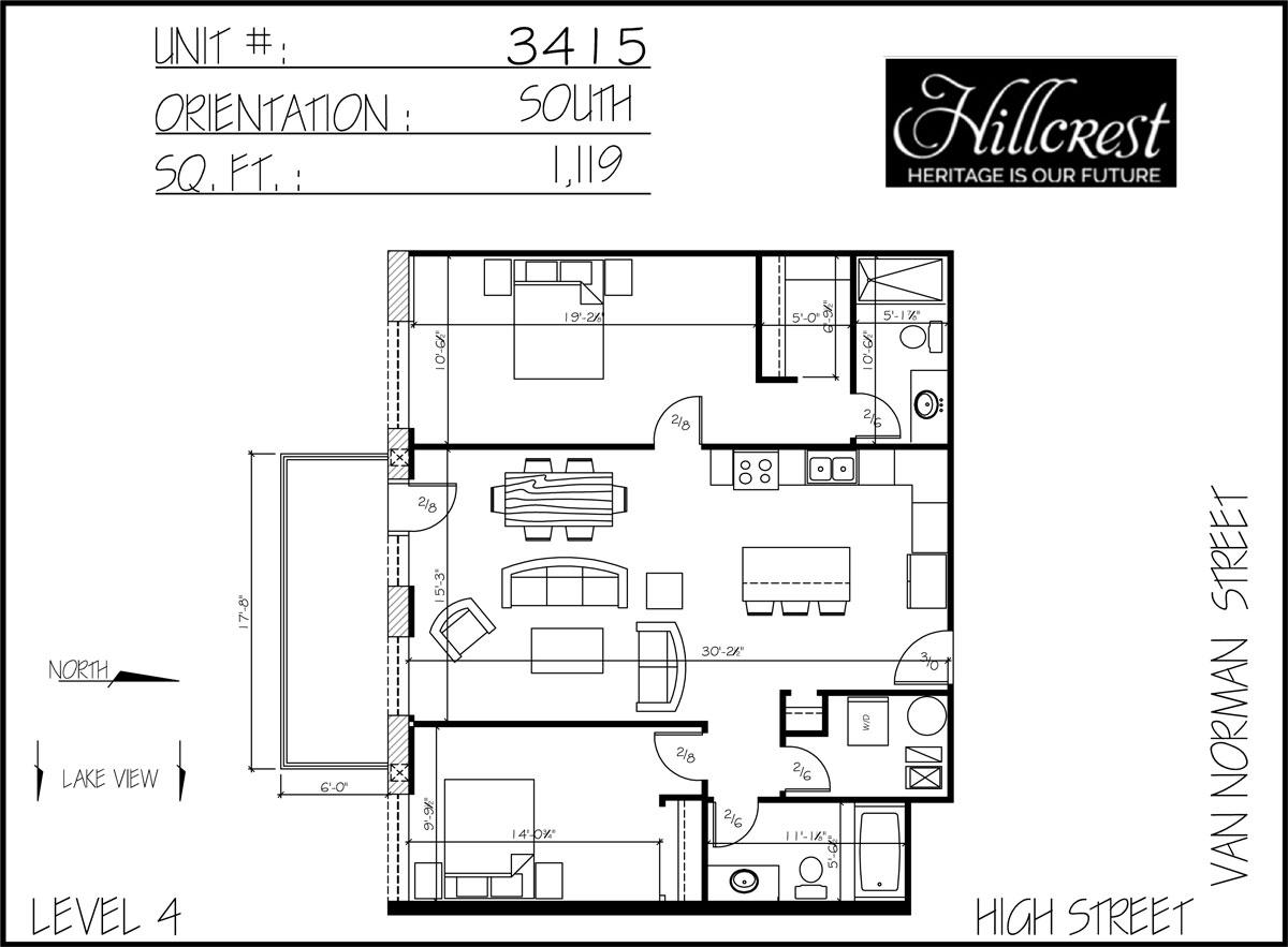 3415 web the hillcrest condos for Web design blueprints